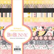 "Petal Lane - BoBunny Single-Sided Paper Pad 6""X6"" 36/Pkg"