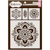 Mandala Garden - Essentials Thick Stencils