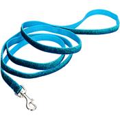 """Blue - Pet Attire 5/8"""" Sparkles Dog Leash 6'"""