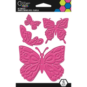 Butterflies - Cutter Bee Die Template