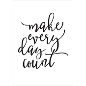 Make Every Day Count - Carpe Diem Planner Decal - Simple Stories
