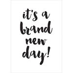 Brand New Day - Carpe Diem Planner Decal - Simple Stories