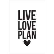 Live, Love, Plan - Carpe Diem Small Planner Decals - Simple Stories