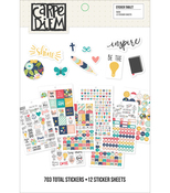Carpe Diem Faith Stickers A5 - Simple Stories
