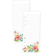 Punched Floral Carpe Diem Faith Bookmark Tablet A5 - Simple Stories