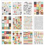Carpe Diem Recipe Stickers A5 12/Pkg