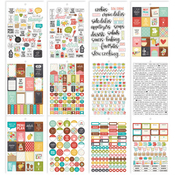Carpe Diem Recipe Stickers A5 12/Pkg