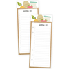 Recipe Punched Shopping Sheets - Carpe Diem - Simple Stories