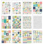 Carpe Diem Home Stickers A5 - Simple Stories