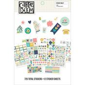 Carpe Diem Home Stickers A5 - Simple Stories
