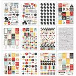 Carpe Diem Say Cheese III Stickers A5 - Simple Stories
