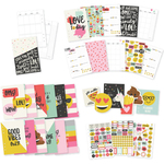 Carpe Diem Emoji Love Planner Inserts A5 - Simple Stories