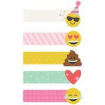 Carpe Diem Emoji Love Page Flags - Simple Stories