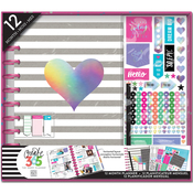 Rainbow Foil - Create 365 Planner Box Kit