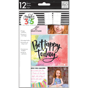 Clear - Create 365 Mini Planner Pocket Sheets