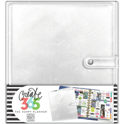 Silver - Create 365 Big Deluxe Planner Cover