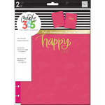 Pink Happy - Create 365 Classic Snap-In Hard Cover Planner