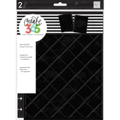 Quilted Night Black - Create 365 Classic Snap-In Hard Cover Planner