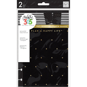 Black/Gold Dot - Create 365 Mini Snap-In Hard Cover Planner