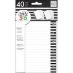 White Note - Create 365 Mini Planner Fill Paper