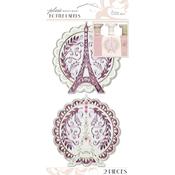 Eiffel Tower - Parisian Bottle Labels 2/Pkg