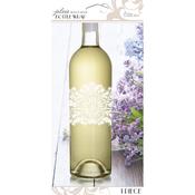Floral - Parisian Bottle Wrap 1/Pkg