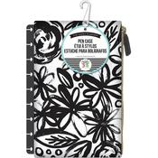 Bold Black W/Flowers - Create 365 Planner Pouch