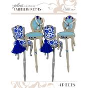 Parisian Chair Picks 4/Pkg