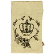 Parisian Vintage Etching Favor Bags 4/Pkg