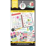 Big Teacher - Create 365 Happy Planner Sticker Value Pack