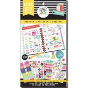Big Teacher - Create 365 Happy Planner Sticker Value Pack