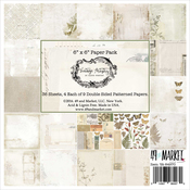 "4 Each Of 9 Designs - Vintage Artistry Collection Pack 6""X6"""