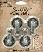 Idea-Ology Mini Pulley Wheels, Tim Holtz