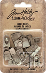 Idea-Ology Index Clips, Tim Holtz