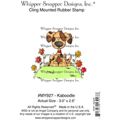 """Kaboodle - Whipper Snapper Cling Stamp 4""""X6"""""""