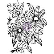 Daisy May - Christine Adolf Cling Rubber Stamps