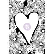 Daisy Love - Christine Adolf Cling Rubber Stamps