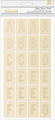 Template Foil Chipboard Stickers - Crate Paper