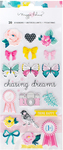Chasing Dreams Puffy Accent Stickers - Crate Paper