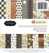 Simple Life 6 x 6 Paper Pad - Pebbles