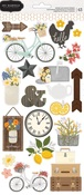 Simple Life Cardstock Stickers - Pebbles