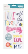Lovely Day Chipboard Phrases - Dear Lizzy
