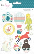 Lovely Day Layered Sticker Set - Dear Lizzy