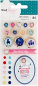 Lovely Day Enamel Dots, Buttons & Tags - Dear Lizzy