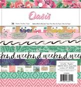 Oasis 6 x 6 Paper Pad - Crate Paper