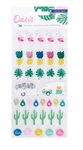 Oasis Puffy Stickers - Crate Paper