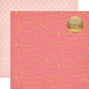Dream Come True Foil Paper - Once Upon A Time Princess - Echo Park