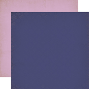 Dark Purple - Light Purple Paper - Once Upon A Time Princess - Echo Park
