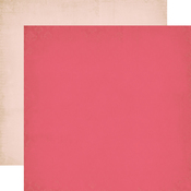 Dark Pink - Light Pink Paper - Once Upon A Time Princess - Echo Park