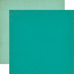 Dark Teal - Light Teal Paper - Once Upon A Time Princess - Echo Park